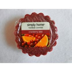 """YC """"Simply Home"""" Wosk CRANBERRY ZEST"""