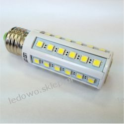 żarówka LED 9W E27 Corn 960lm, barwa biała-ciepła, odpowiednik żarówki 100W