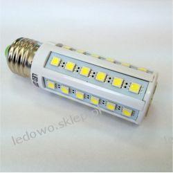 żarówka LED 9W E27 Corn 960lm, barwa biała-zimna, odpowiednik żarówki 100W