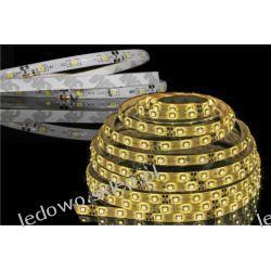 taśma LED 24W/5m, 12V DC, wodoodporna, 300 diod SMD3528, barwa biała-ciepła