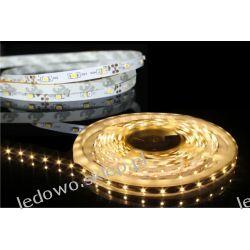 taśma LED 24W/5m, 12V DC, 300 diod SMD3528, barwa biała-ciepła