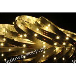 taśma LED 12W/5m, 12V DC, 150 diod SMD3528, barwa biała-ciepła