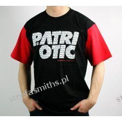 Koszulka Patriotic CLS Fonts Black/Red FW14