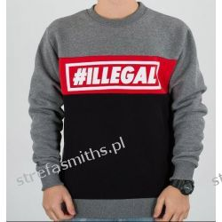 Bluza Illegal Red (klasyk) T-shirty