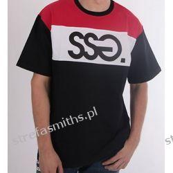 Koszulka SSG COLORS CZARNY Odzież, Obuwie, Dodatki