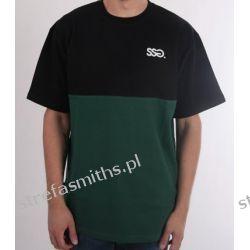 Koszulka SSG HALF CZARNY/ZIELONY Odzież, Obuwie, Dodatki