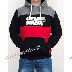 Bluza CS RPK melanż/czarny/czerwony (kaptur/kangur) Odzież i bielizna męska