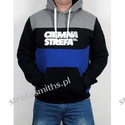 Bluza CS RPK melanż/czarny/chaber (kaptur/kangur) Odzież i bielizna męska