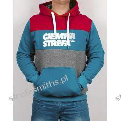 Bluza CS RPK czerwony/morski/melanż (kaptur/kangur) Odzież i bielizna męska