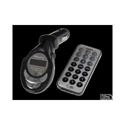 Transmiter FM pilot, karta SD-MMC, USB, JACK