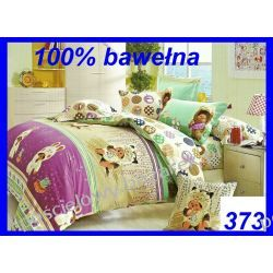 KOMPLET POŚCIELI dla dzieci 3cz bawełna