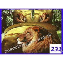 KOMPLET POŚCIELI 3D foto BAWEŁNIANA 6cz.  200x220 w eleganckim kremowym pudełku