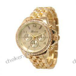 Zegarek Geneva srebrny złoty Hit Blogerek