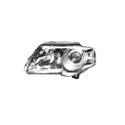 Lampa przednia, reflektor świateł przednich VOLKSWAGEN PASSAT, SDN+KOMBI (B6 (3C)), 01.05- LEWA