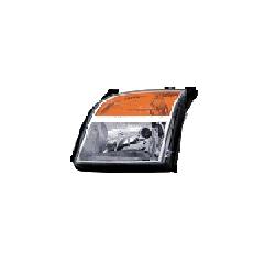Lampa przednia, reflektor świateł przednich FORD FUSION (JUS), 09.05 - LEWA