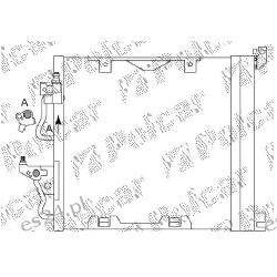 Chłodnica klimatyzacji skraplacz Zafira Astra H 1.3 1.7 1.9