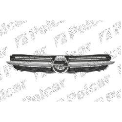 Oryginał Gril Atrapa Chrom/Czarne Opel Vectra C, 01 -05 NOWA