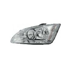 Reflektor Focus Mk2 – lewy Srebrny TYC