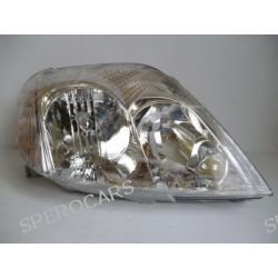 Reflektor świateł TYC 20-0265-05-2 Toyota COROLLA kombi (_E12J_, _E12T_), COROLLA sedan (_E12J_, _E12T_) PRAWY