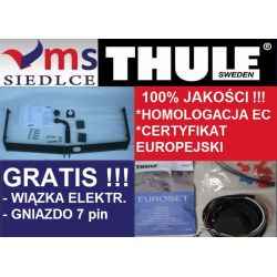Hak Holowniczy THULE OCTAVIA KOMBI 98-2005 +Wiązka