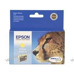 Wkład atramentowy Epson T0714 yellow C13T07144010 do Stylus D78 / D92 / D120 / DX4050 / DX4400 / DX5000 / DX5050 / DX6000 / DX6050 / DX7000F / DX8400 / DX9400F / S20 / SX100 / SX105 / SX200 / SX205