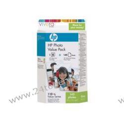 Zestaw Q8898AE HP No 110 tri-colour Photo Value Pack Vivera do HP PhotoSmart A430 / A516 / A626 / A432 / A612 / A716 / A433 / A616 / A717 / A436 / A618 / A826 (papier + tusz)