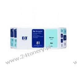 C4994A Głowica + tusz HP 81 light cyan Dye Value Pack | 680ml | designjet5500/5500pc... Głowica + tusz HP 81 light cyan Dye Value Pack | 680ml | designjet5500/5500pc...