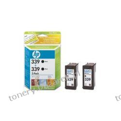 C9504E Wkład drukujący HP czarny No 339 [ 2x21ml, 2x C8767E HP dj9800/6620 ]