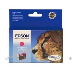 Wkład atramentowy Epson T0713 magenta C13T07134010 do Stylus D78 / D92 / D120 / DX4050 / DX4400 / DX5000 / DX5050 / DX6000 / DX6050 / DX7000F / DX8400 / DX9400F / S20 / SX100 / SX105 / SX200 / SX205