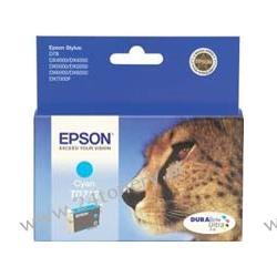 Wkład atramentowy Epson T0712 cyan C13T07124010 do Stylus D78 / D92 / D120 / DX4050 / DX4400 / DX5000 / DX5050 / DX6000 / DX6050 / DX7000F / DX8400 / DX9400F / S20 / SX100 / SX105 / SX200 / SX205