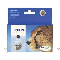 Wkład atramentowy Epson czarny T0711 C13T07114010 do Stylus D78 / D92 / D120 / DX4050 / DX4400 / DX5000 / DX5050 / DX6000 / DX6050 / DX7000F / DX8400 / DX9400F / S20 / SX100 / SX105 / SX200