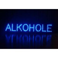 LED REKLAMA WEWNĘTRZNA ALKOHOLE 90,5x20 cm SZYLD