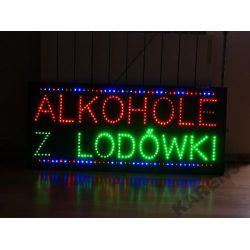 LED REKLAMA ŚWIETLNA SZYLD zew.ALKOHOLE