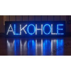 LED REKLAMA WEWNĘTRZNA ALKOHOLE 94 x 20 cm