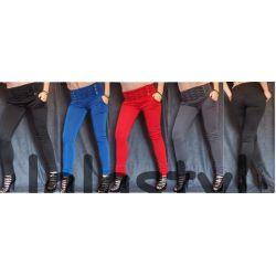 WŁOSKIE WYSZCZUPLAJĄCE spodnie przeszycia new L XL