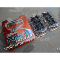 Ostrza Nożyki Wkłady Gillette Fusion Power 8 sztuk