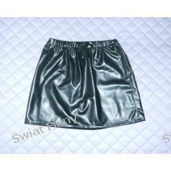 spódnica klasyczna na gumce, sztuczna skóra, koronka, dzins, flausz,