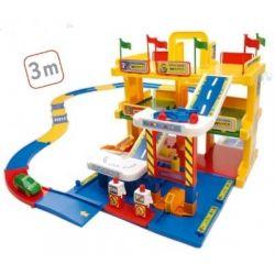 Garaż 3 poziomowy z drogą 3 m - WADER 50400- #A1