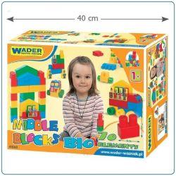 Klocki midle blocks -Zestaw Big- WADER 41560- #A1