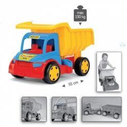 Gigant Truck Wywrotka z Przyczepą- WADER 65100 -