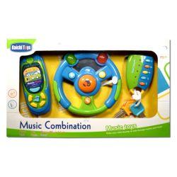 Muzyczna kierownica z kluczykami i telefonem  HH P