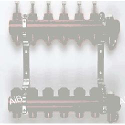 Kisan rozdzielacz KRPT 4 do ogrzewań płaszczyznowych i grzejnikowych 04.20.12 Grzejniki
