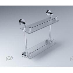 07.842  Seria: CLASSIC Półka prosta podwójna / szkło matowe  07.842.1  Półka prosta podwójna / szkło bezbarwne