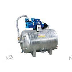 Automat wodociągowy WIMEST AW–100 (zbiornik 100dm³, poziomy, ocynkowany, pompa SKM z silnikiem 230V lub 400V, 1.1kW)