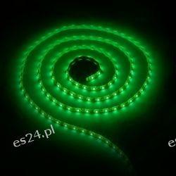 WE LED pasek 5m 60szt/m 4,8W/m zielony IP65 żel bez konektora
