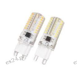 Żarówka  LED SMD 230V G9  ciepła biała  3W