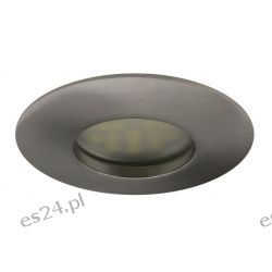 Oprawa do podbitki dachowej 12 lub 230V stała HDW-1014 chrom    IP 44  szczelna