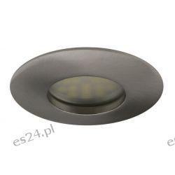 Oprawa do podbitki dachowej 12 lub 230V stała  HDW-1014 chrom sat   IP 44  szczelna