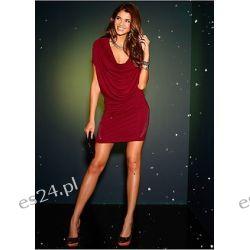 Atrakcyjna sukienka z dżetami