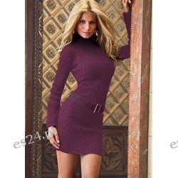 Sexy sukienka dzianinowa